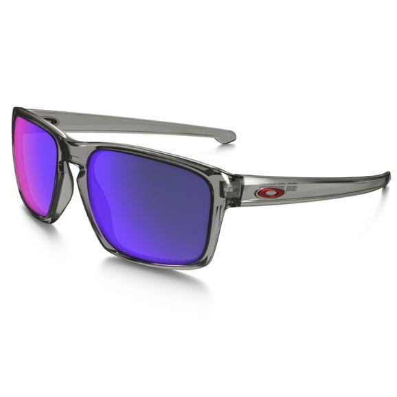 Oculos-Oakley-Sliver-Grey-Smoke-Red-Iridium-Polarizado