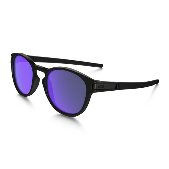 Oculos-Oakley-Latch-Matte-Black-Violet-Iridium