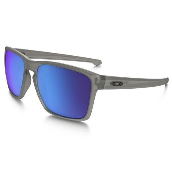 Oculos-Oakley-Sliver-Xl-Matte-Grey-Ink-sapphire-Polarizado