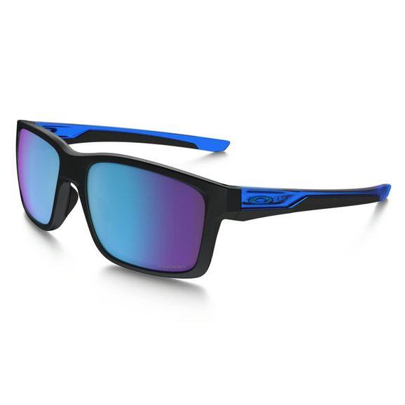 Oculos-Oakley-Mainlink-Matte-Blk-sapphire-Prizm-Polarizado