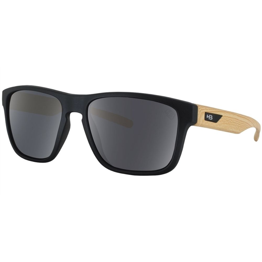 aaa5287692738 Óculos Hb H-bomb Matte Black wood gray - centralsurf