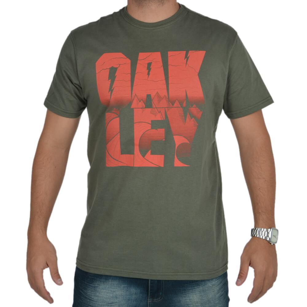 Camiseta Estampada Oakley - centralsurf 338b836cb74