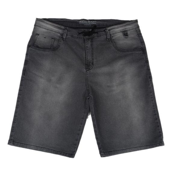 Bermuda Jeans Wg Tamanho Especial - Cinza 952ecc3181d