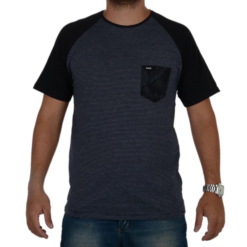 Camiseta Hurley Especial Flower Stripe - centralsurf 24ad1bcb9b1