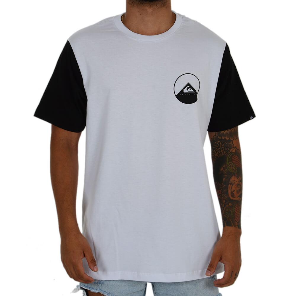 Camiseta Quiksilver Estampada - centralsurf 1884eeb1633