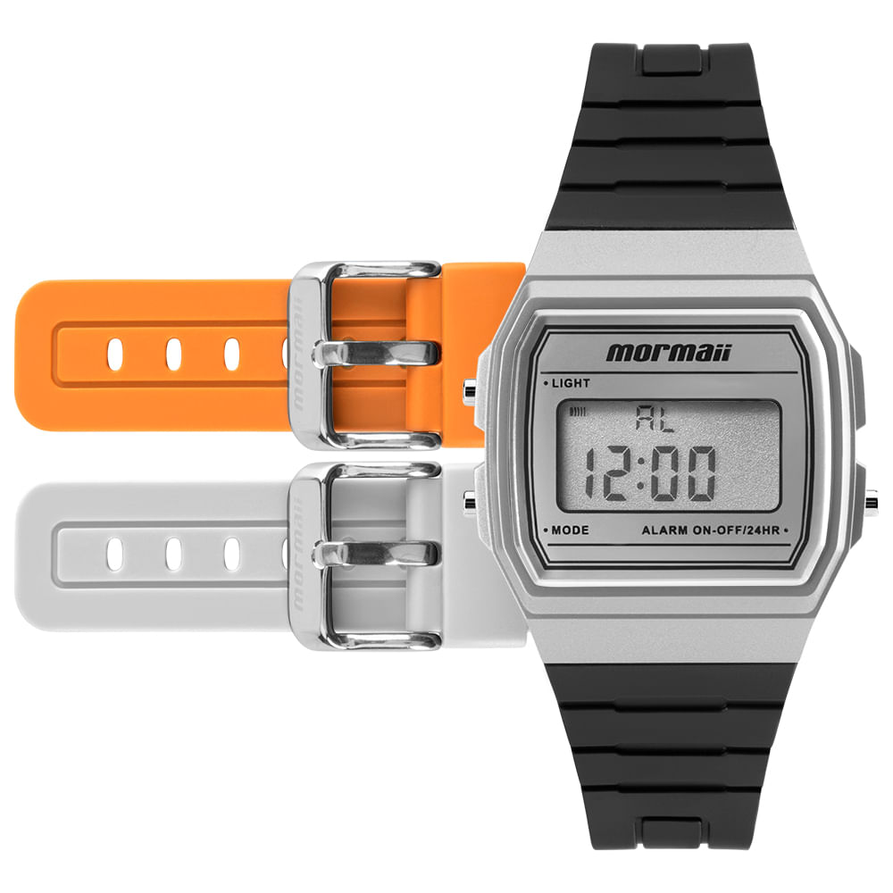 Relógio Mormaii Los Angeles Borracha - centralsurf f370f34647