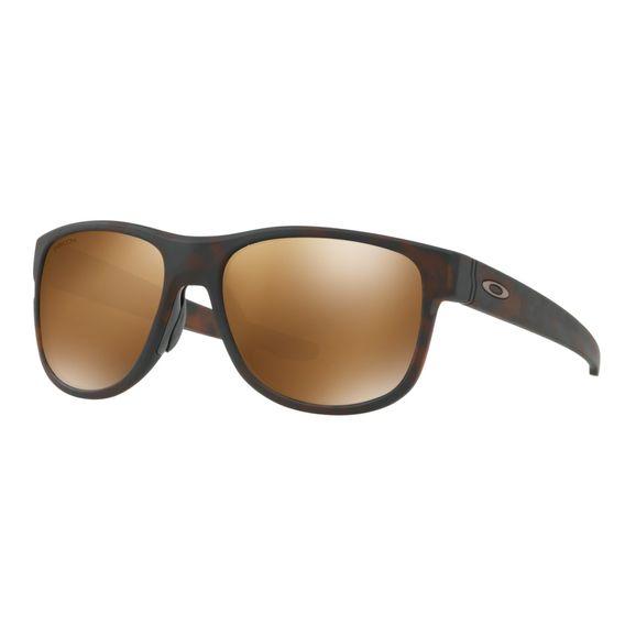 Oculos-Oakley-Crossrange-R-Matte-Tortoise-Tungsten-Polarized