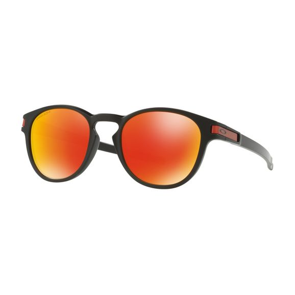 Oculos-Oakley-Latch-Matte-Black-W-prizm-Ruby-