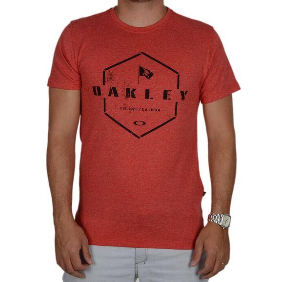 Masculino - Camisetas Oakley Vermelho de R 100 ab2c8cd1a86