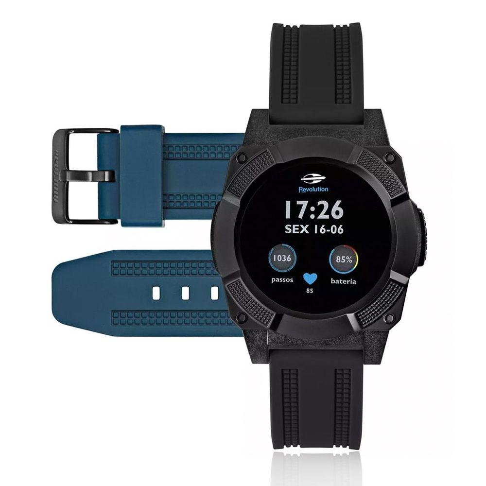 c837a198d3c Relógio Mormaii Smart Watch Revolution Mosrabp - centralsurf