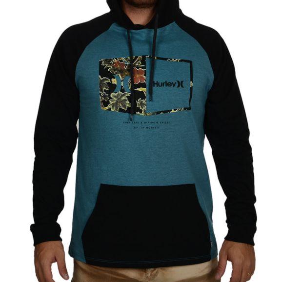Camiseta-Hurley-Manga-Longa