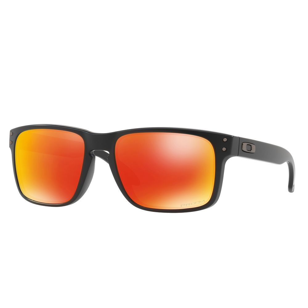 Óculos Oakley Holbrook Matte Black W prizm Ruby - centralsurf 08e829fff3