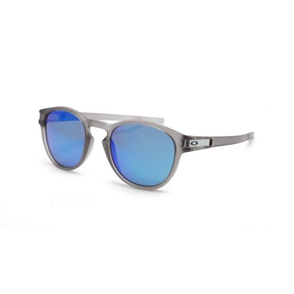 Óculos Oakley Latch Matte Grey Ink W prizm Sapphir Polarizado - Cinza bfee880770
