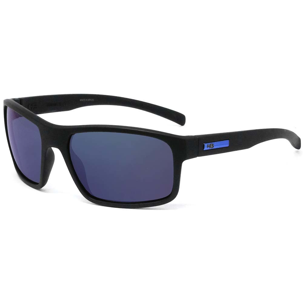 623694c9b30f7 Óculos Hb Overkill Matte Black D Blue Chrome - centralsurf