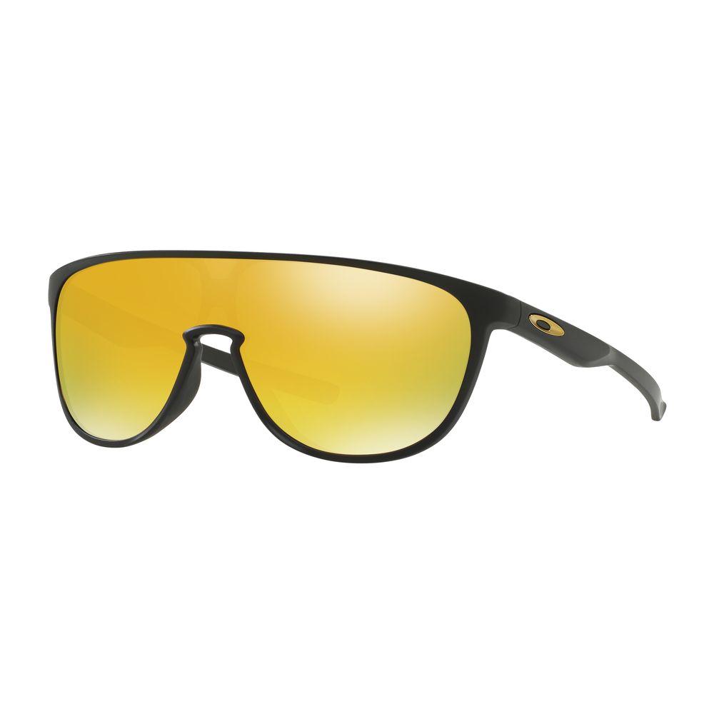 3301c6b10 Óculos Oakley Trillbe Matte Black W/24k Iridium - Oo9318-06 ...