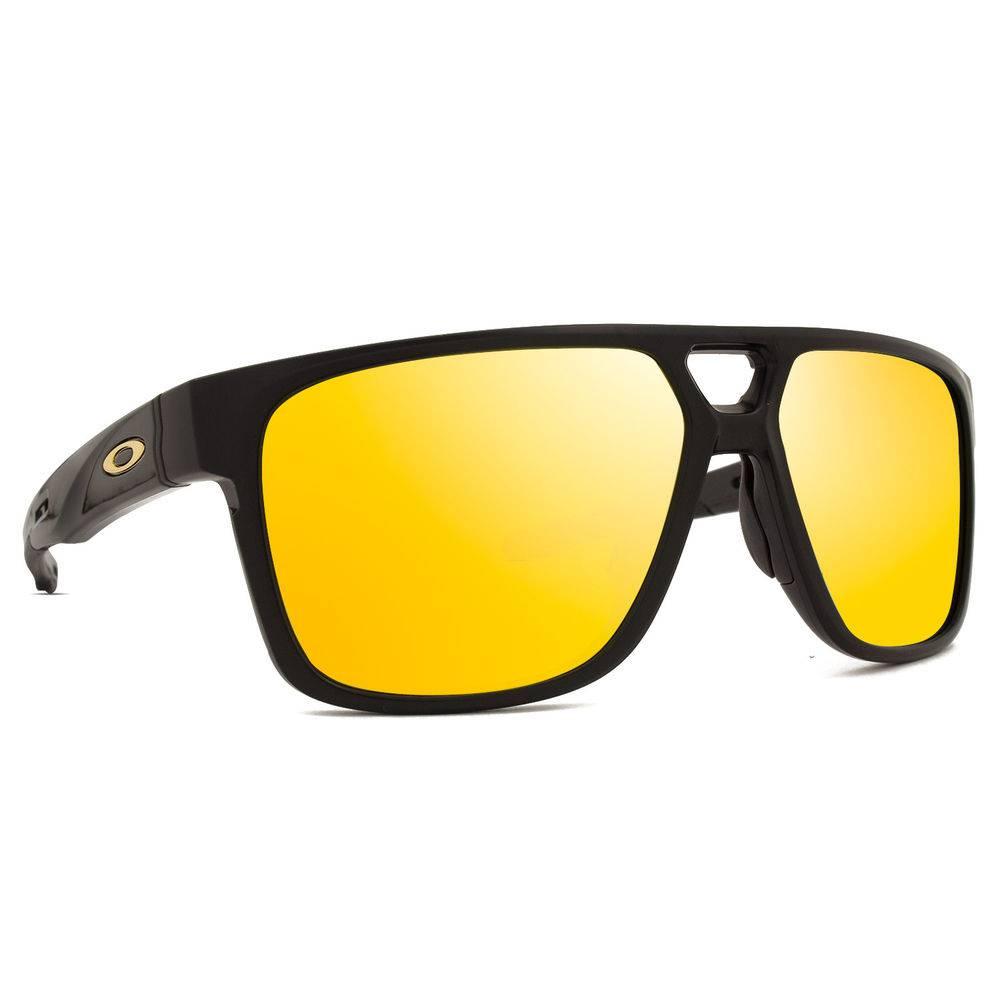 108920fe92c7e Oakley. Óculos Oakley Crossrange Patch Matt Blk 24k Iridium - OO9382-04 - Preto  Fosco - Único. REF