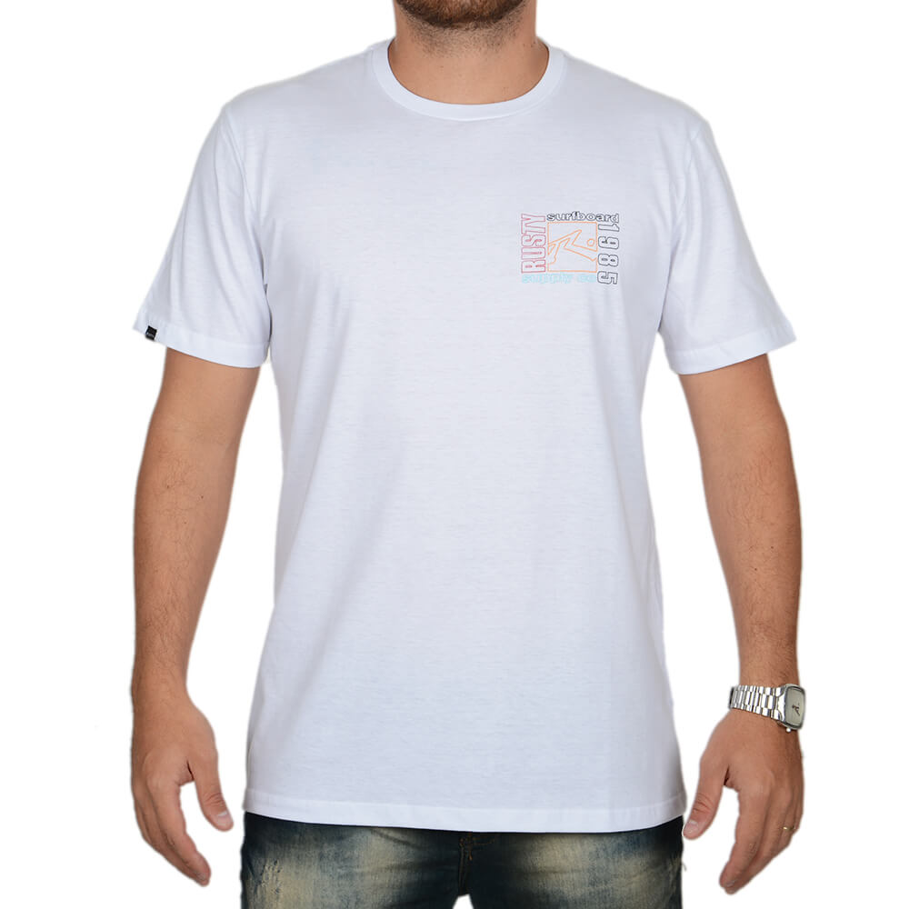 Camiseta Rusty Estampada - centralsurf 8ee44620d43