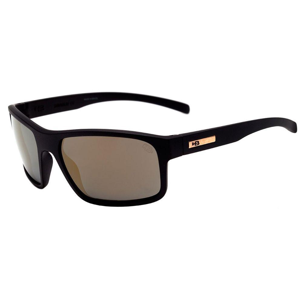 c839bdf85051b Óculos Hb Overkill Matte Black Gold Chrome - centralsurf
