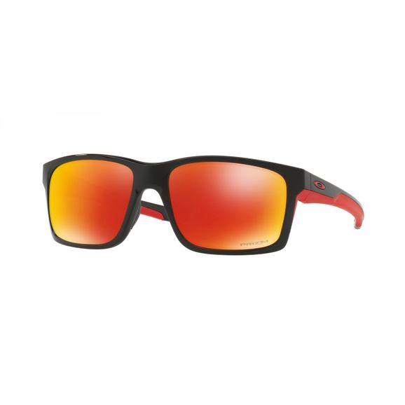 Oculos-Oakley-Mainlink-Polished-Blk-W-prizm-Ruby-Polarized