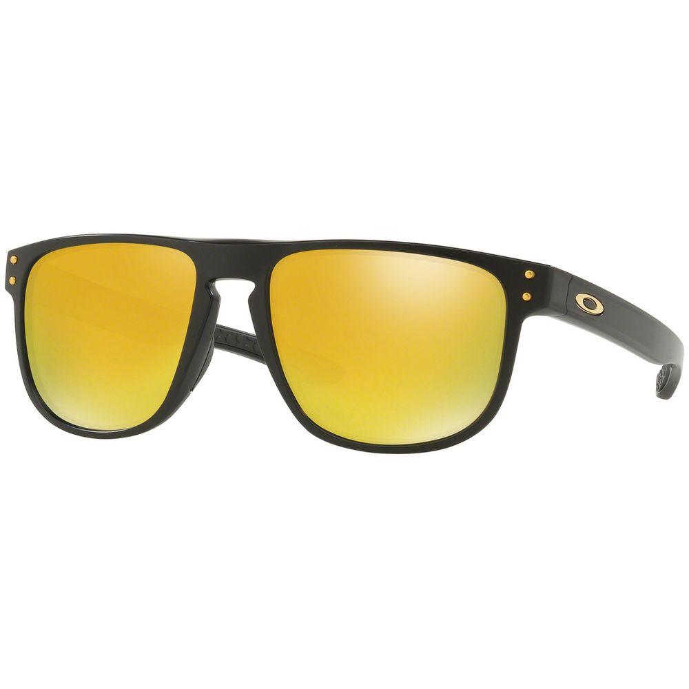 0574101a5dc28 Óculos Oakley Holbrook R Matte Black W 24k Iridium - centralsurf