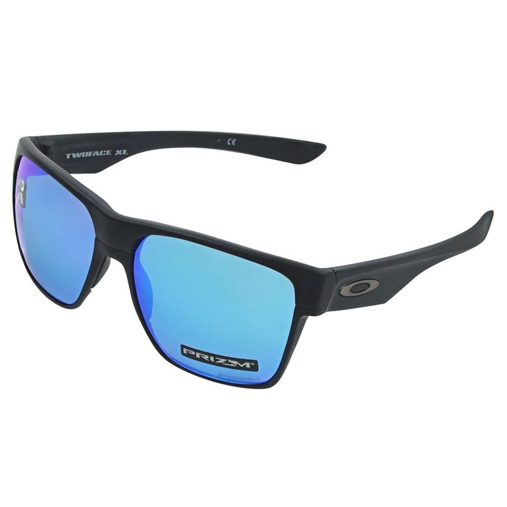 ade074e34 Óculos Oakley Twoface Xl Matte Blk Prizm Sapphire Polarizado ...