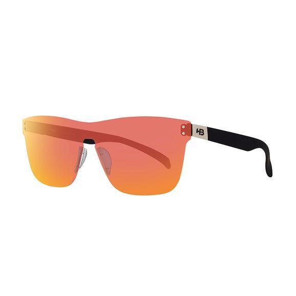 Óculos Hb H-bomb Mask Matte Graphite Red Chrome - Preto b0a4e882c3
