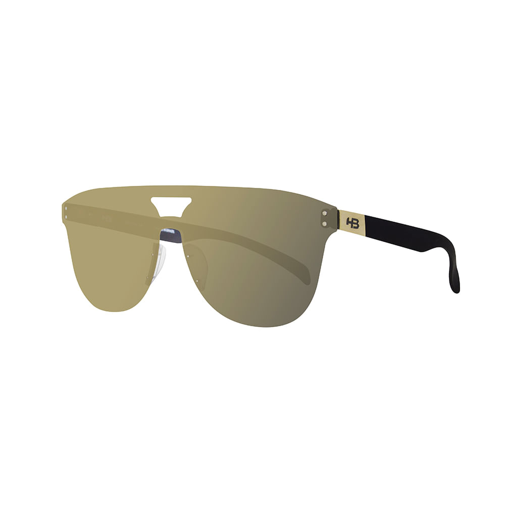 a24a8d0d7fc70 Óculos Hb Moomba Mask Matte Black Gold Chromet - centralsurf