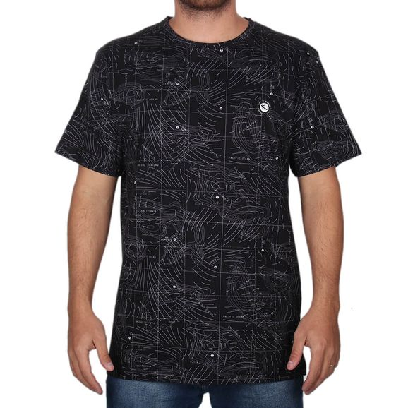 Camiseta-Lost-Especial-Wave-Map