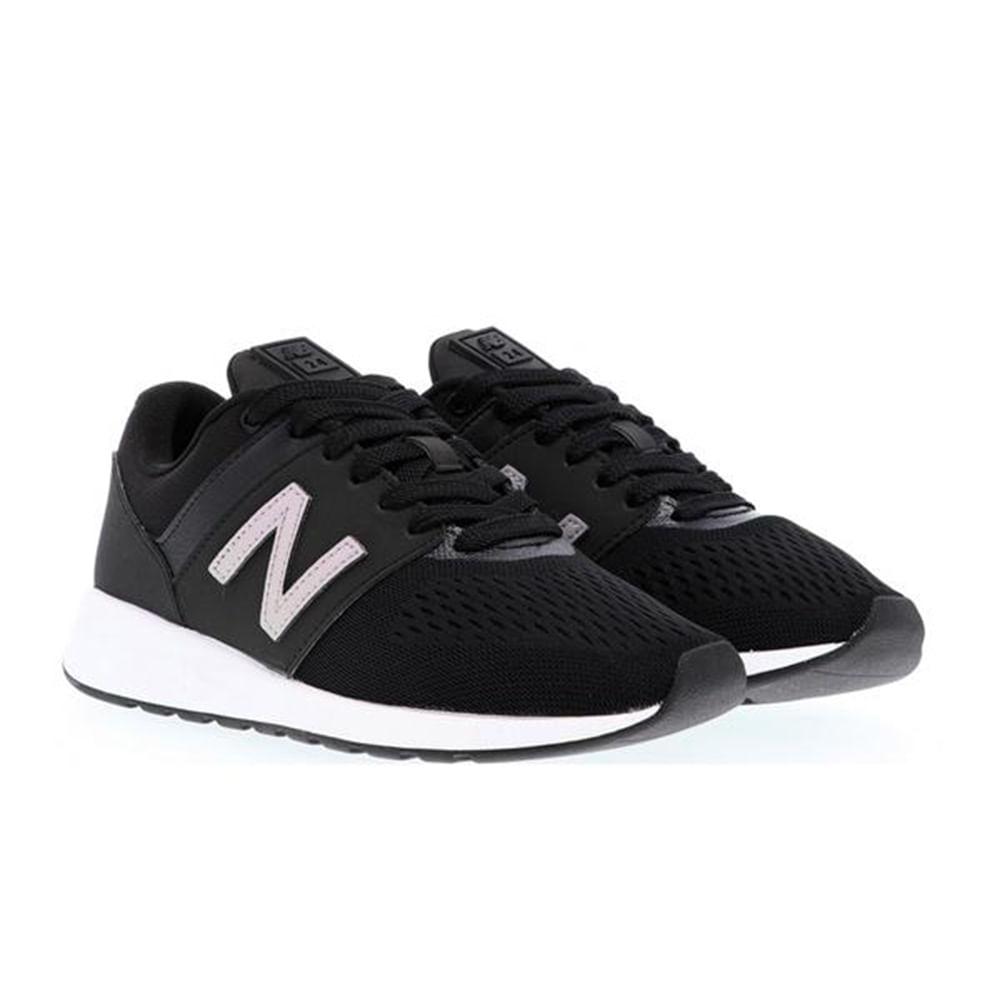 08067d9033 New Balance. Tênis New Balance WRL24TI - Preto/branco