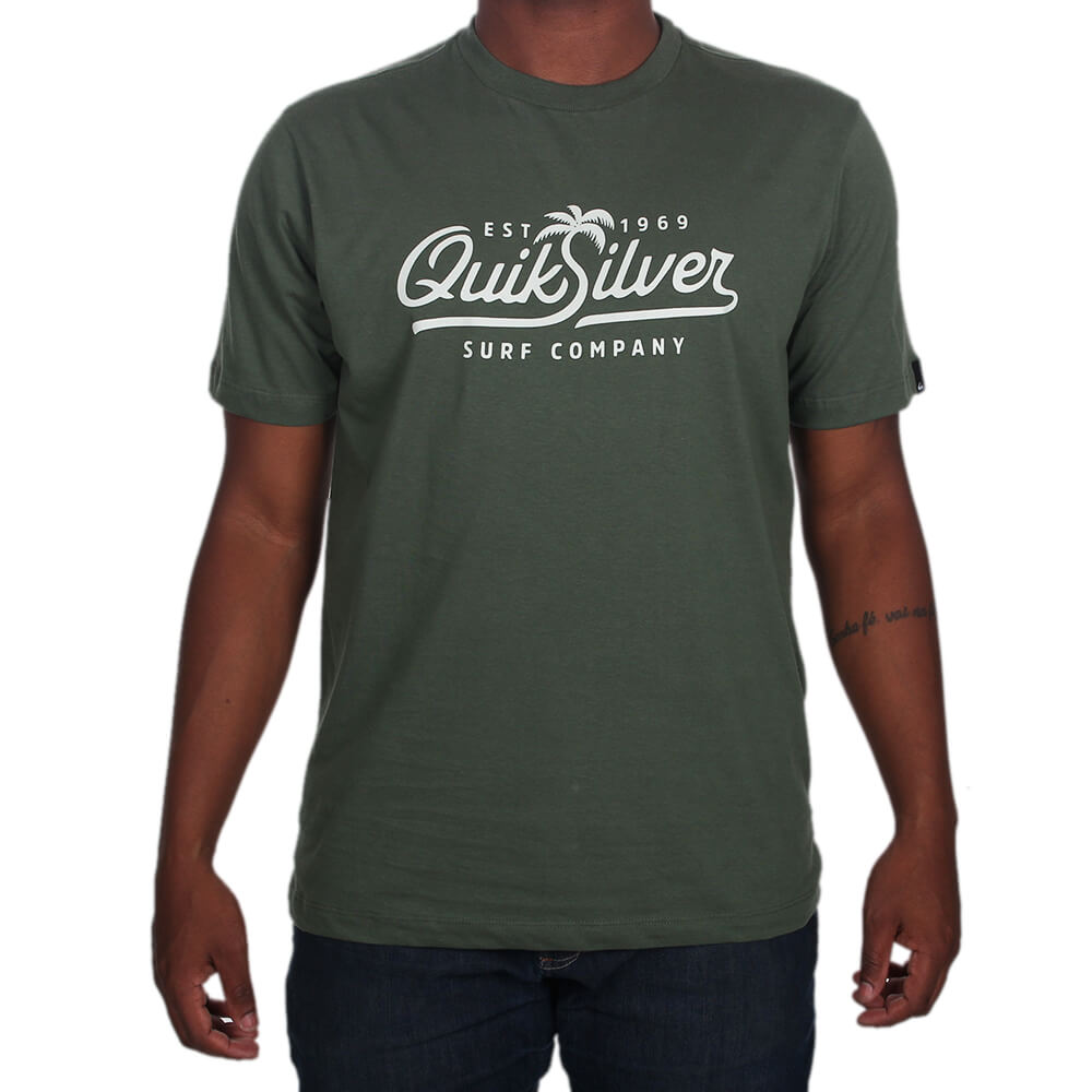 Camiseta Quiksilver Palm Script - centralsurf 361df2710c
