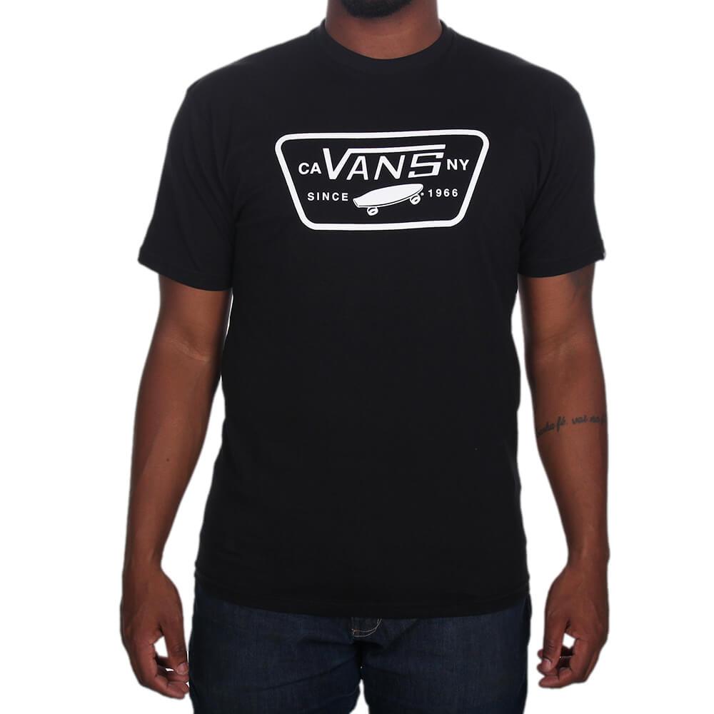 7619ec8cabf Camiseta Vans Full Patch - centralsurf