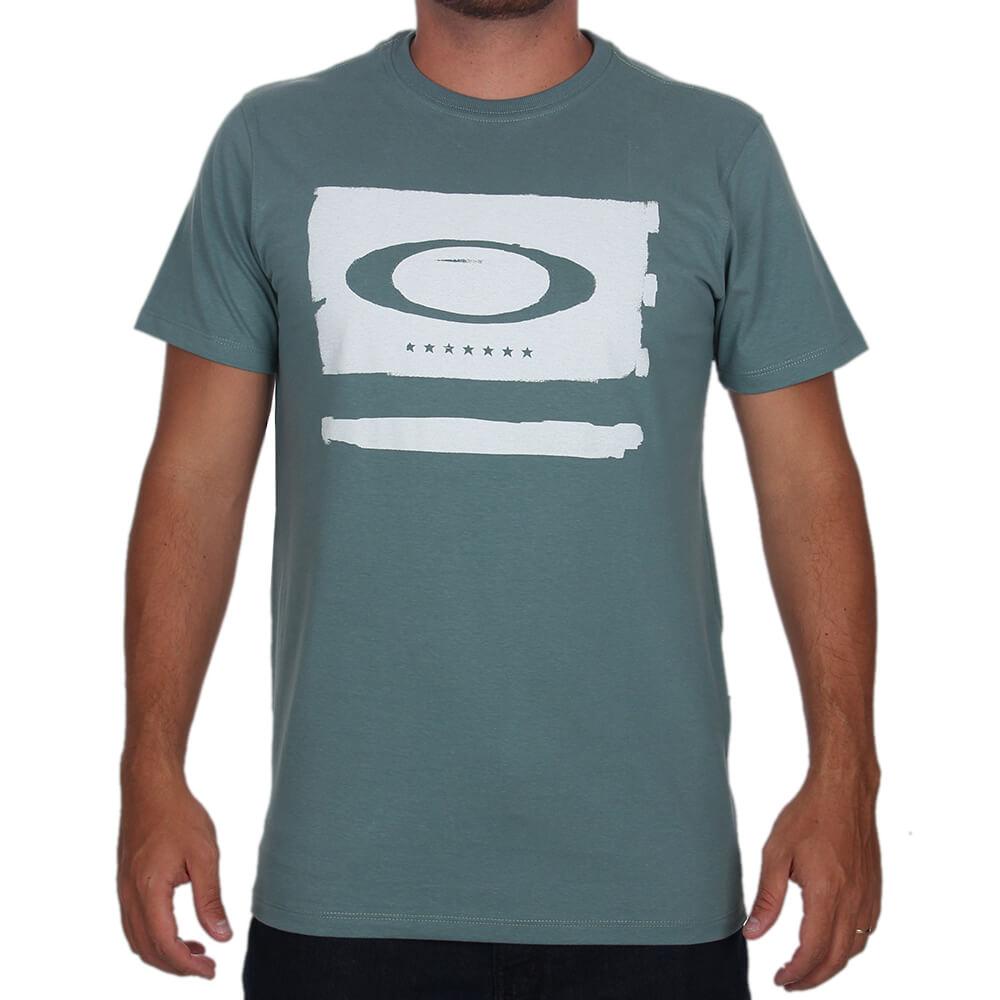 Camiseta Oakley Elipse Flag Tee - centralsurf 70cce5f1cf4