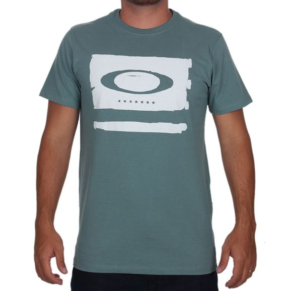 Camiseta-Oakley-Elipse-Flag-Tee