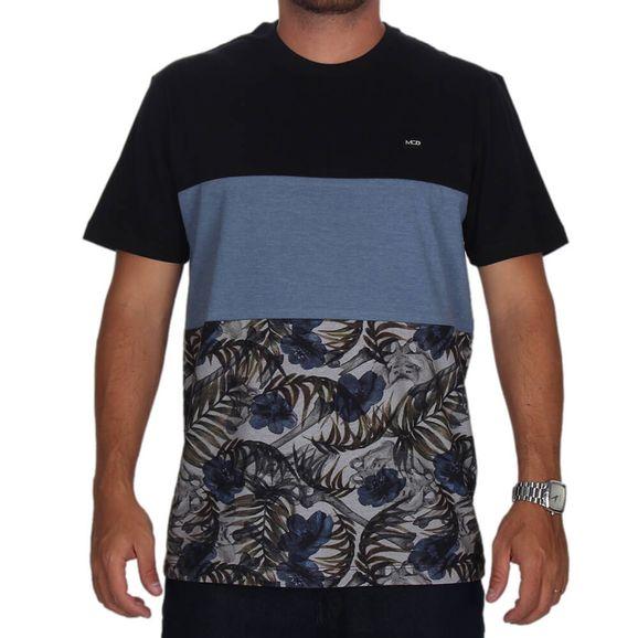 66e7432851 Camiseta Especial Mcd Tropical Bones - Preto azul