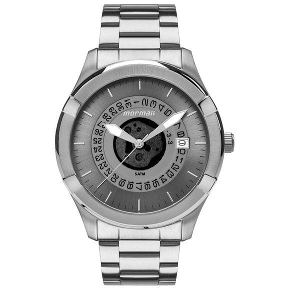 Relógio Mormaii Kalim - MO2415AD1A - Silver a32fe977e9