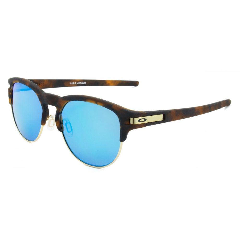 d5e637232c130 Oakley. Óculos Oakley Latch Key L Matte Brown W  Saphire Polarizado - OO9394 -07 - Marrom ...