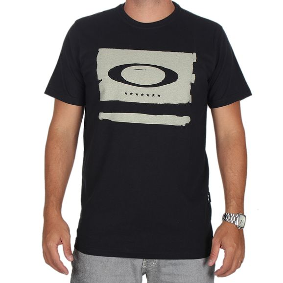 Preta em Masculino - Camisetas Oakley Manga curta de R 100 9b28a9cd5c7