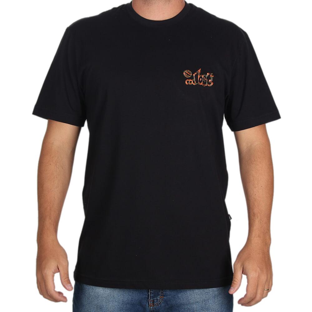 cd465ad817445 Camiseta Estampada Lost Lava - centralsurf