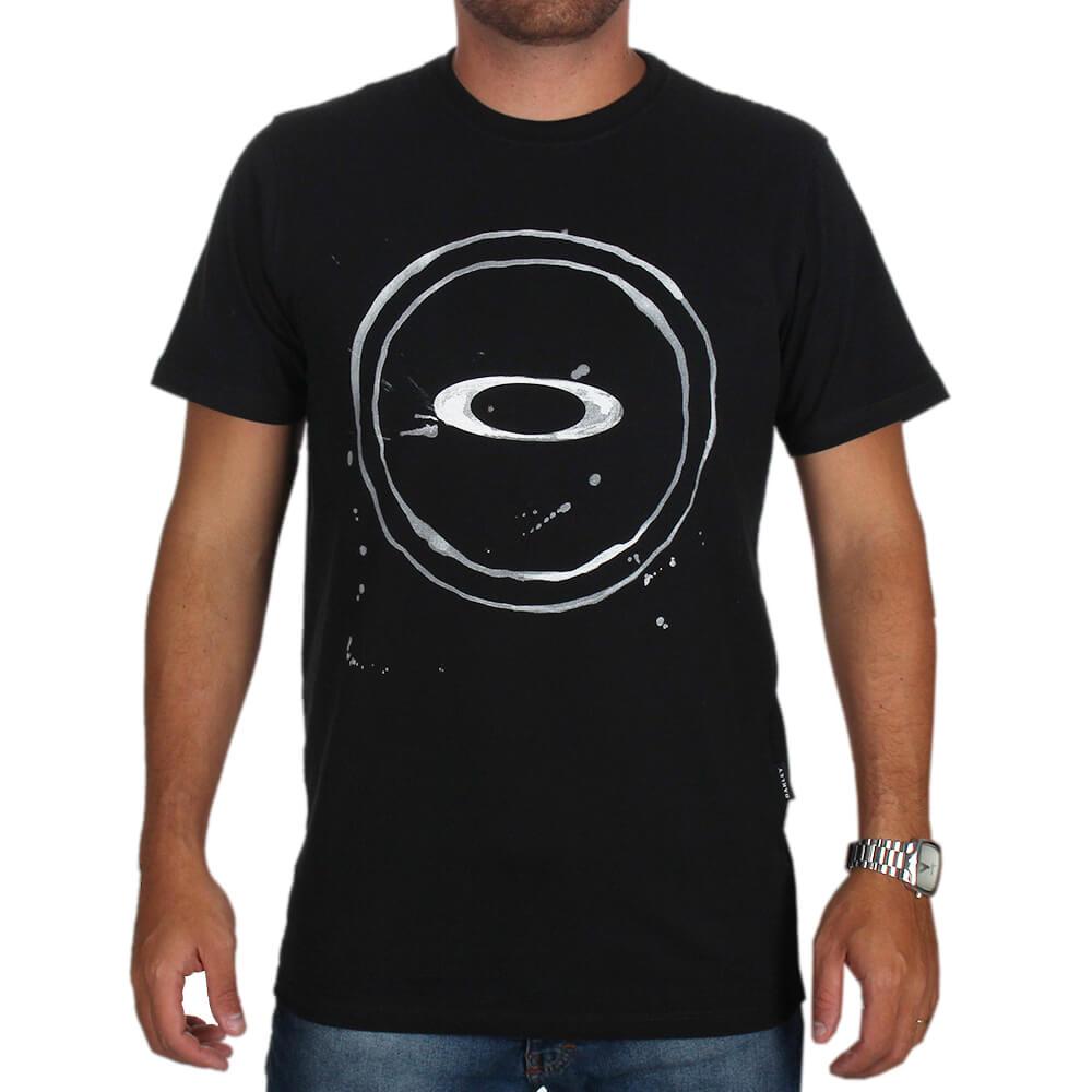 Camiseta Oakley Elipse Splash Tee - centralsurf 39c07854dc0