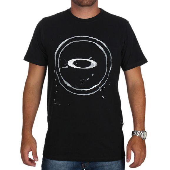 Camiseta Oakley Elipse Splash Tee - Preta 03a8c0e71c2