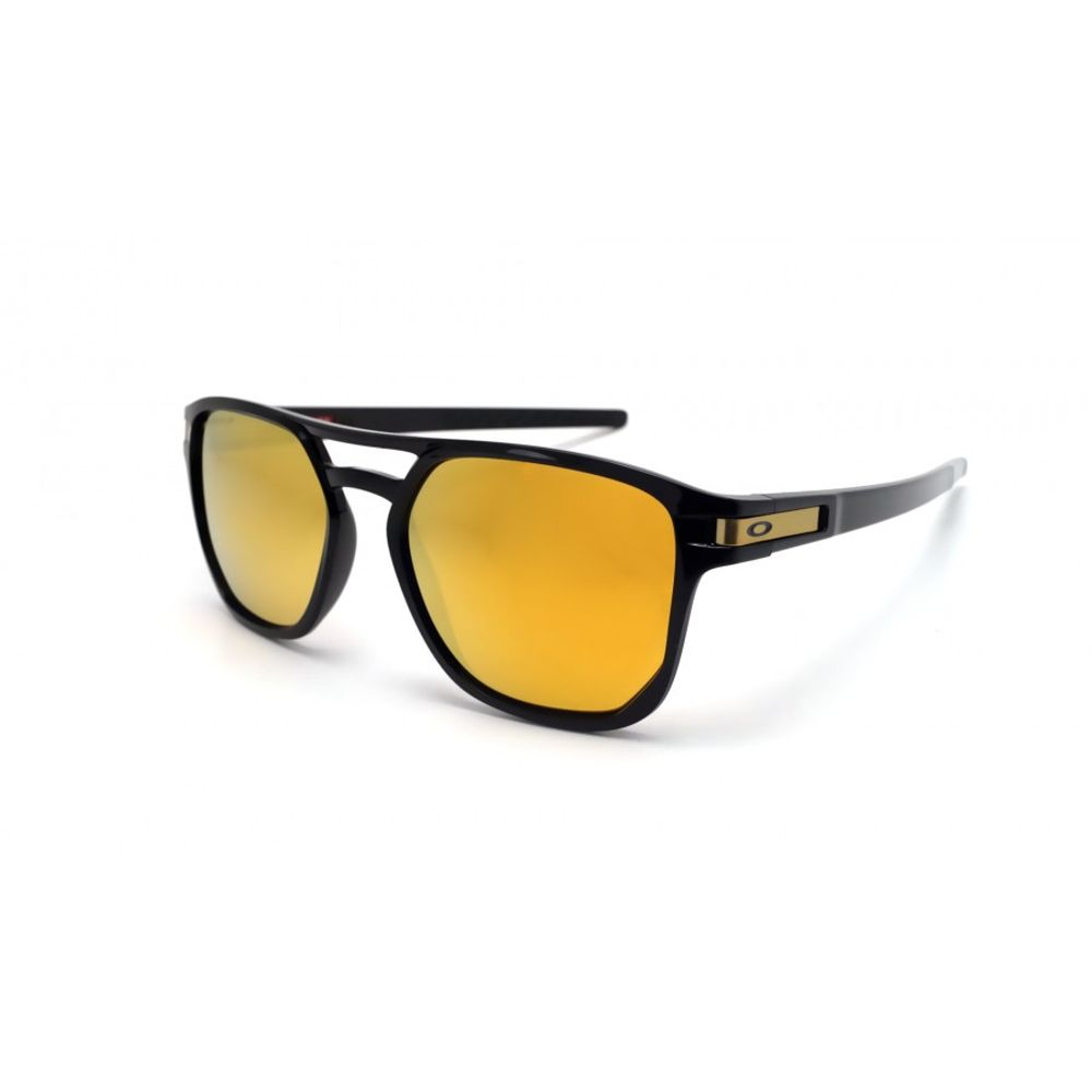 8acccf1b6 Óculos Oakley Latch Beta Polished Black W/ Prizm 24k Polarizado ...