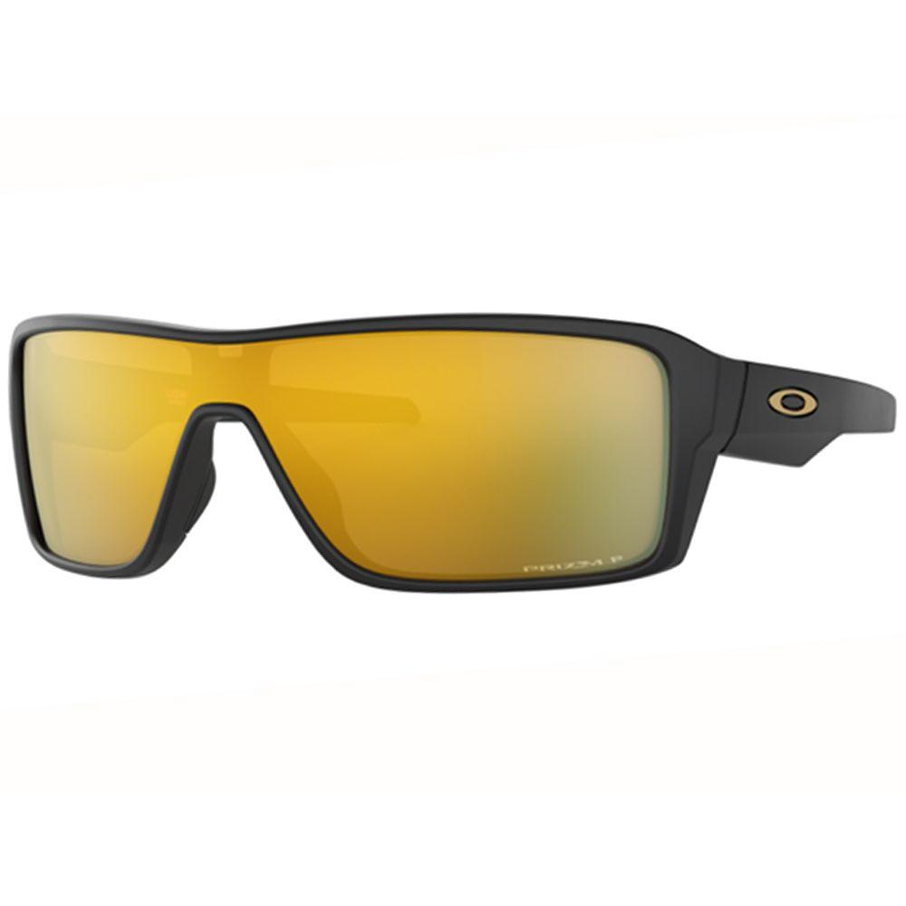 bd13b56c0416e Óculos Oakley Ridgeline Matte Black W  Prizm 24k Polarizado - Oo9419 ...
