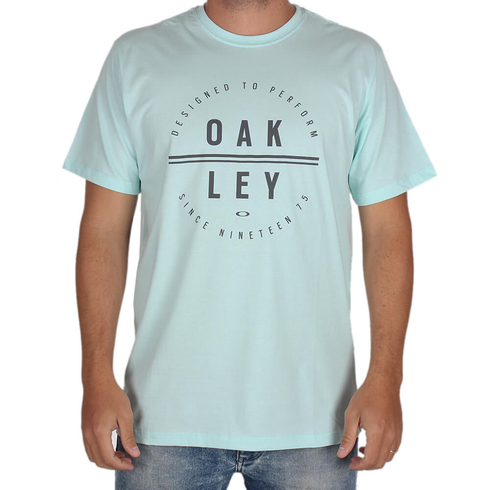 Camiseta Estampada Oakley Circle Tee - centralsurf c27a5bf7020
