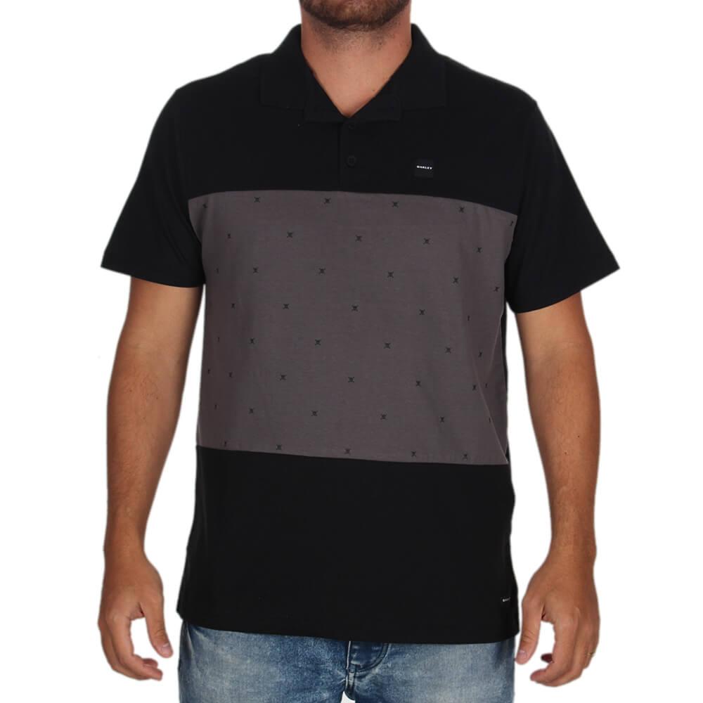 Camisa Polo Oakley Skull Block - centralsurf da5485290ea