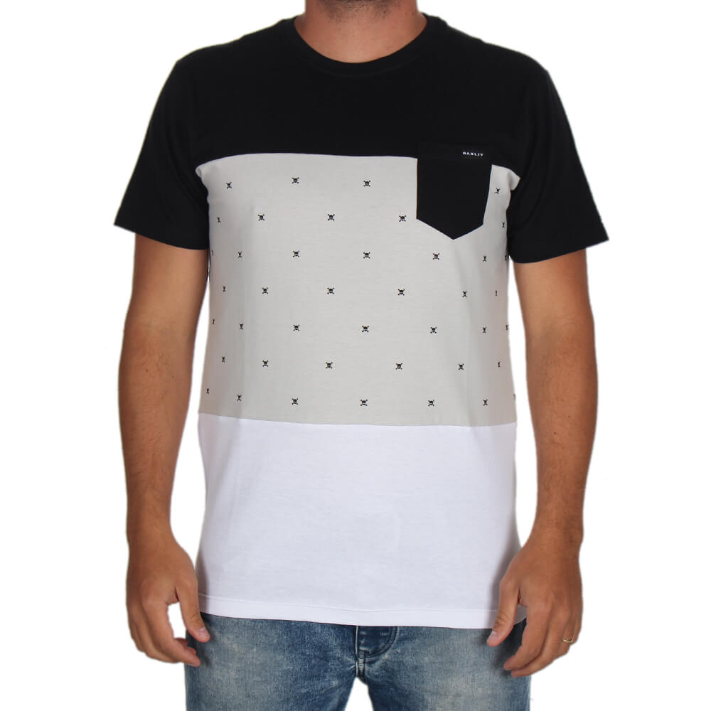 Camiseta Especial Oakley Skull Block - centralsurf 1a5eb21d62d