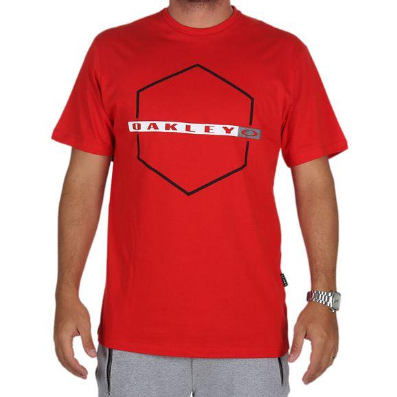 Camiseta-Estampada-Oakley-Crossing-Hex-Tee