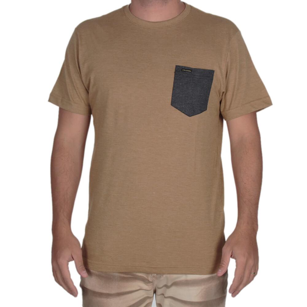 Camiseta Especial Volcom Heather Pocket - centralsurf 8b67310432
