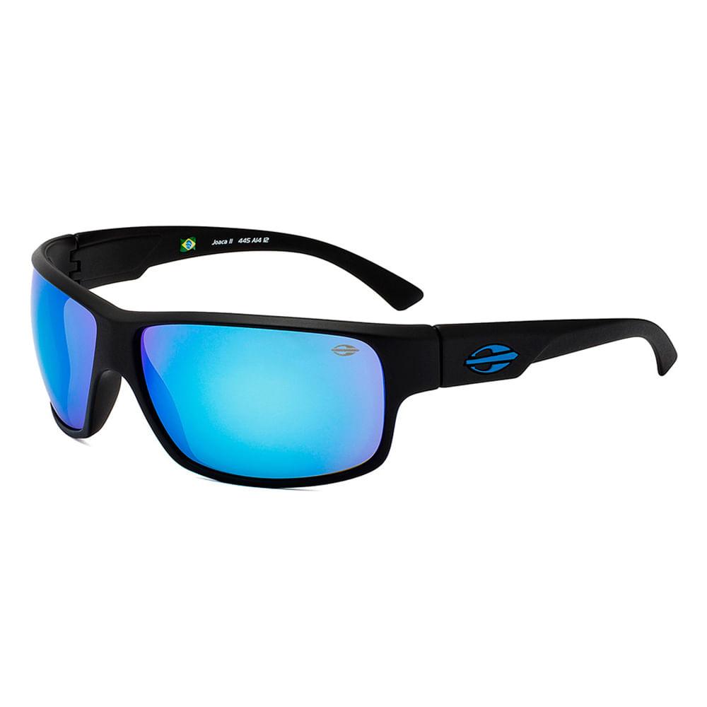 dda68bd6ec5ef Óculos Mormaii Joaca Ii Preto Fosco Lente Azul - 00445a1412 ...