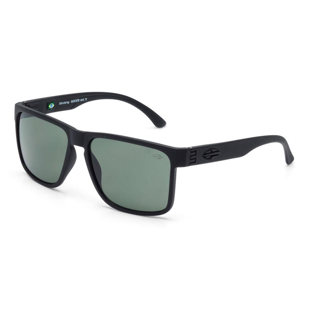 814866e5d6b45 Óculos Mormaii Monterey Preto Fosco Lente G15 - M0029a1471 - centralsurf