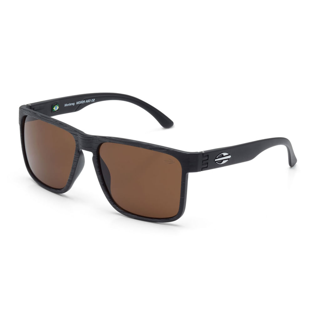 310635d86b7af Mormaii. Óculos Mormaii Monterey Preto Escovado Lente Marrom - M0029A6002 - Preto  Fosco - Único. REF  1000549721. Opinião dos Consumidores 0